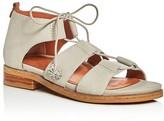 Gentle Souls Gem Strappy Lace Up Sandals