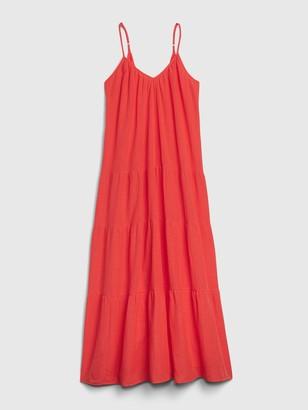 Gap Dreamwell Crinkle Dress in Modal-Cotton