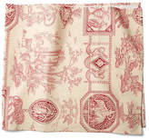 Maison Du Linge Diane Table Runner - Berry/Ivory