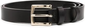 Semi-Couture Black Leather Belt