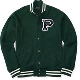 Ralph Lauren Cotton-blend Baseball Jacket