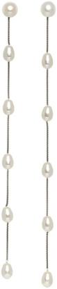 Sophie Buhai Silver Large Pearl Drop Earrings