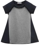 Moncler Girl's Fringed Jersey Dress