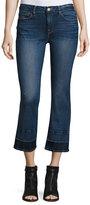 Frame Le Crop Mini Boot-Cut Jeans w/Wide Released Hem, Atlas