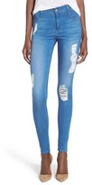 James Jeans Women's Destroyed Seamless Yoga Leggings
