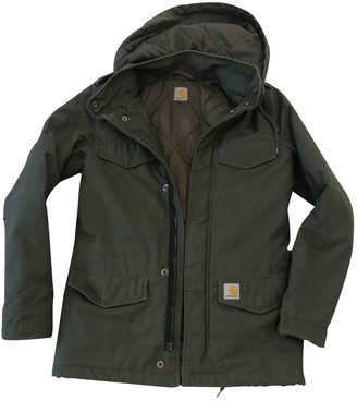 Carhartt Green Cotton Coat for Women