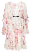 Giambattista Valli Printed Silk-chiffon Dress