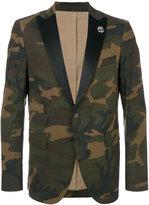 Hydrogen camouflage fitted blazer