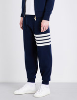 Thom Browne Stripe-detailed cashmere jogging bottoms