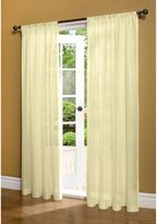 Commonwealth Home Fashions Weathershield Rod Pocket Window Curtain Panel