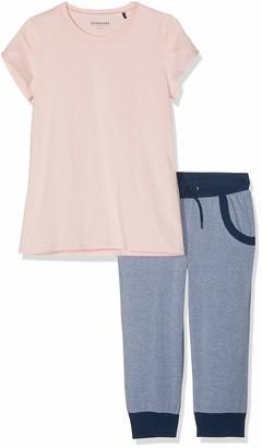 Schiesser Girls' Mix & Relax Madchen Anzug 3/4 Pyjama Sets