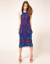Asos Midi Dress with Beading