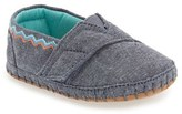Toms Infant Girl's Alpargata Crib Shoe