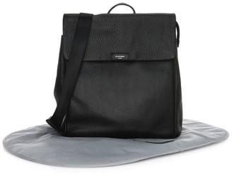Storksak St. James Leather Diaper Bag Backpack