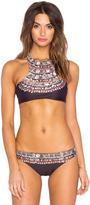 Mara Hoffman Reversible Racerback Bikini Top