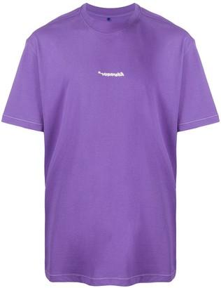 Ader Error embroidered T-shirt