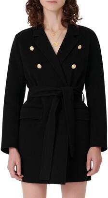 Maje Wool Blend Jacket