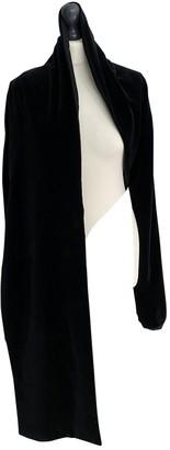 Martine Sitbon Black Velvet Jacket for Women