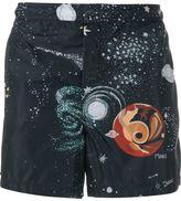 Valentino 'Astro Couture' swim shorts