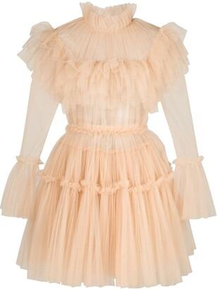 KHAITE Paula ruffled dress