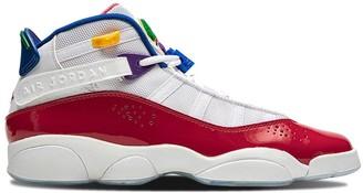 Nike Kids TEEN Jordan 6 Rings mid-top sneakers