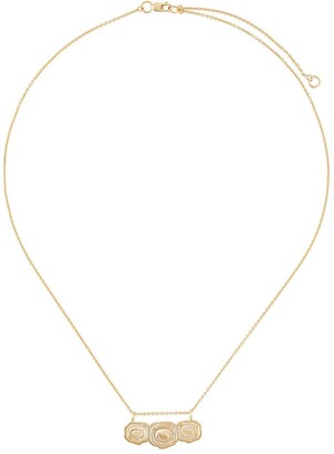 KAY KONECNA Elena trio pendant necklace