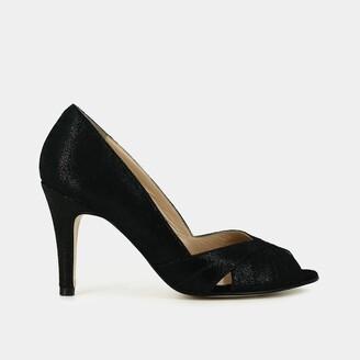 Jonak Acide Peep-Toe Leather High Heels
