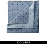 Reclaimed Vintage Diamond Pocket Square