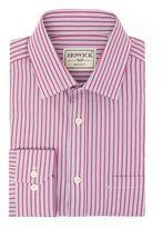 Howick Tailored Silbert Double Stripe Shirt