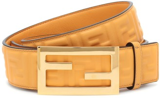 Fendi Baguette leather belt