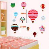 Hot Air Balloons Kids Wall Sticker