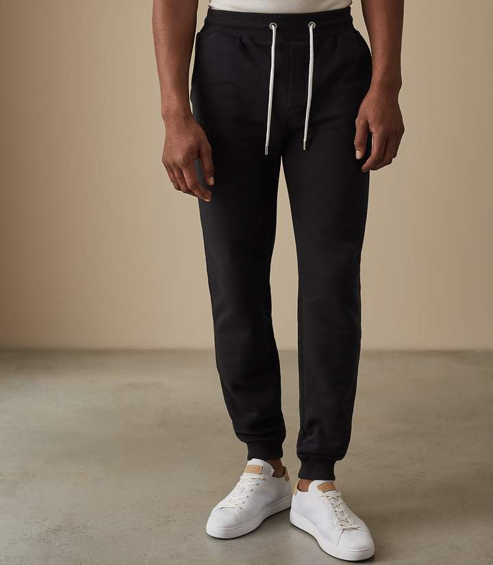 Reiss ALLY SLIM FIT JOGGERS Navy