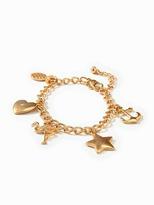 Old Navy Gold-Toned Charm Bracelet for Women
