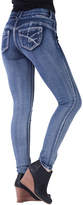 Amethyst Jeans Dark Blue Lizzy High-Waist Jeggings