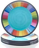Certified International Serape by Nancy Green 6-pc. Melamine Dinner Plate Set