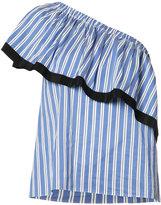 Milly single shoulder blouse