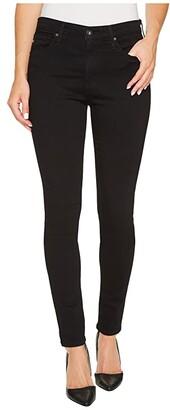 AG Jeans Farrah Skinny in Super Black (Super Black) Women's Jeans