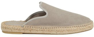 Saks Fifth Avenue Angie Suede Espadrille Mules