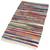 Camilla And Marc EHC 100 Percent Recycled Handmade Cotton Chindi Floor Rug 160 x 230 cm, Multi-Colour