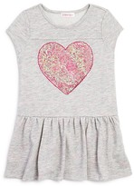 Design History Girls' Sequin Heart Dress - Little Kid