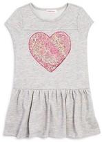 Design History Girls' Sequin Heart Dress - Sizes 2-6X
