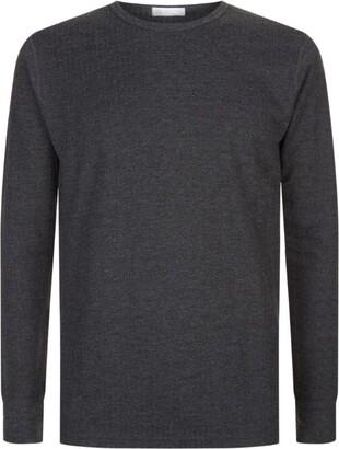 Sunspel Thermal Long Sleeve T-Shirt