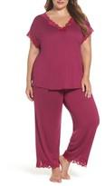 Natori Plus Size Women's 'Zen Floral' Pajamas