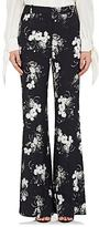 Erdem Women's Floral Cady Wide-Leg Pants