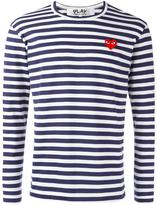 Comme des Garcons striped longsleeved T-shirt