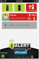 The First Years True Fit IAlert C685 Convertible Car Seat - Naturalization