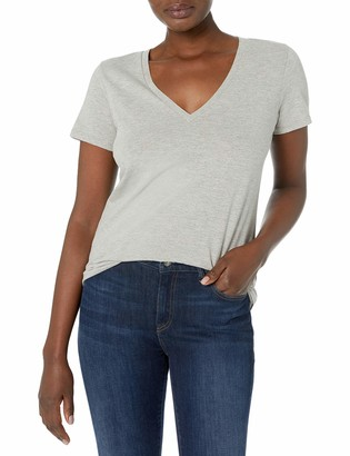J.Crew Women's Vintage Cotton V-Neck T-Shirt
