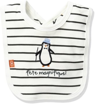 Magnificent Baby Party Penguin Reversible Bib
