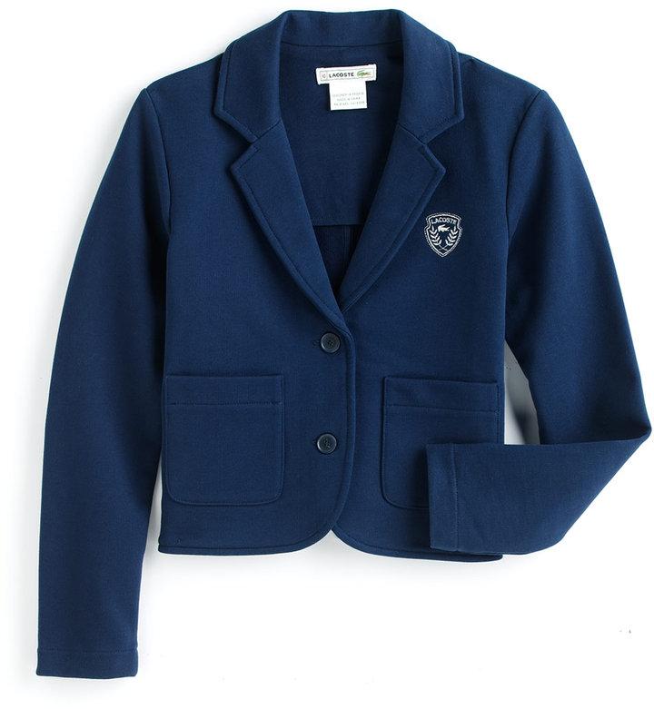 Lacoste Tweens 7-16 Cotton Blazer