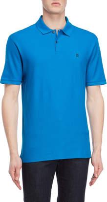 DKNY Logo Patch Short Sleeve Polo